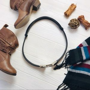 Chico's Accessories - Chico's Western Leather Belt